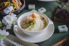 Braised Fish Maw with Fish Collagen Soup