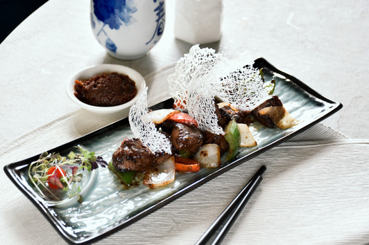 Blazing Black Pepper Beef Cubes