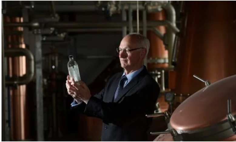 Ian Palmer, managing director, InchDairnie Distillery, Glenrothes.