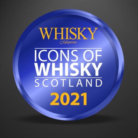 Die regionalen Gewinner des Whisky Magazine Icons of Whisky Scotland 2021