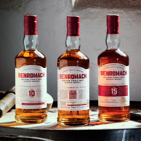 Benromach unveils new look