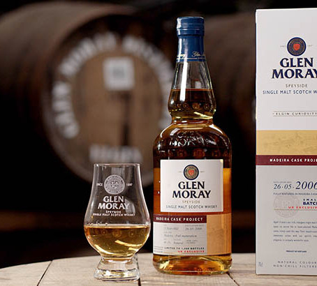 Glen Moray matures single malt in Madeira casks