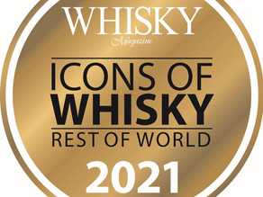 Gewinner der Icons of Whisky RoW 2021