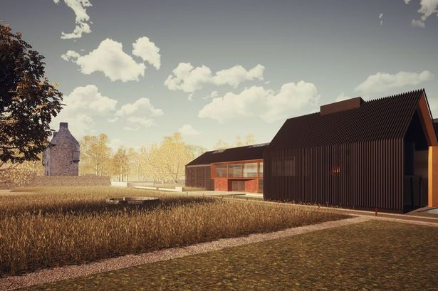 How the Midhope Castle Distillery will look if permission is granted(Image: MCDC)