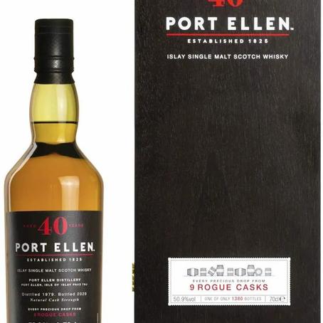 Port Ellen 40yo old: Port Ellen's 9 ROGUE CASKS