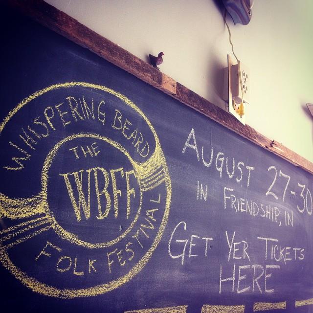 We're spending most of August in prep mode for the _whispering_beard folk festival. Still a couple k