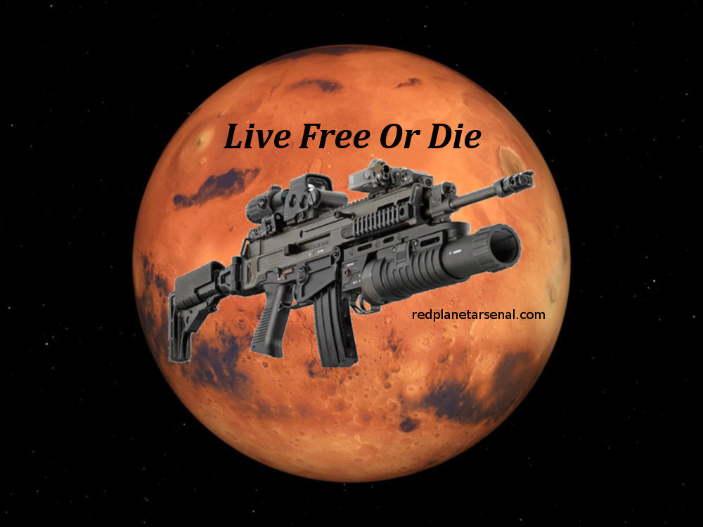 Red Planet Arsenal's FM-P5, CT Legal CZ Scorpion PDW