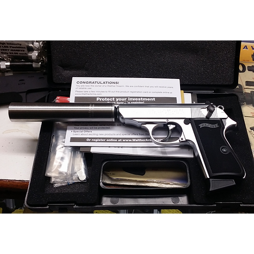 Walther PPK/S QD Suppressed