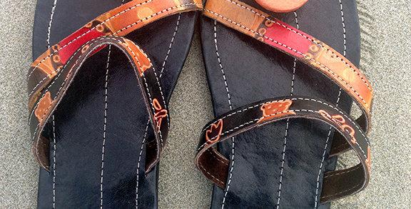 Two-Strap Sandal