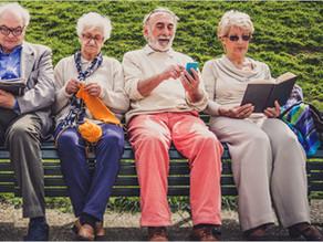 DieYogamieze auf der ersten digitalen Seniorenmesse