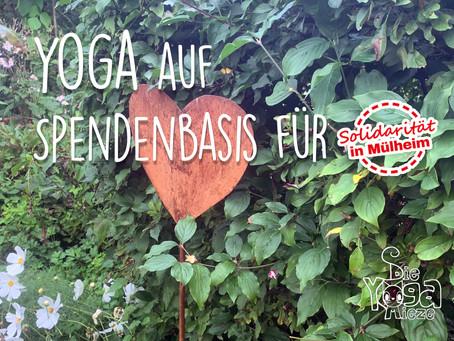 """Yoga auf Spendenbasis für """"Solidarität in Mülheim"""""""