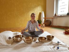Klang Yin Yoga und Klangmassage