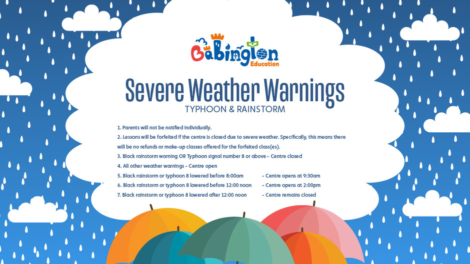 Severe Weather Update 13/10