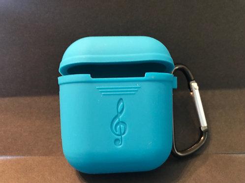 Blue AirPod Case/Key Ring
