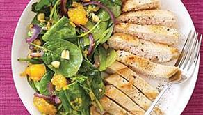 Kuřecí salát smandarinkami