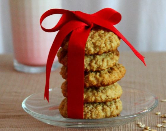 Vánoční zdravé sušenky