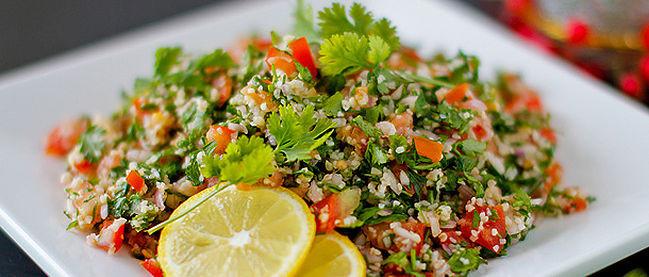 Tabouleh salat recept