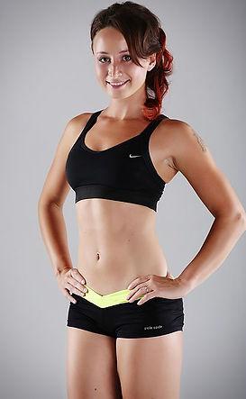 Dana Hájková fitness hubnutí