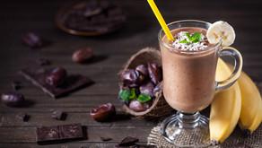 Zdravé kokosovo-čokoládové smoothie