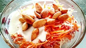 Mrkvový salát sjogurtem recept