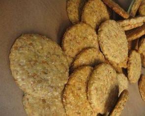Zdravé semínkové krekry