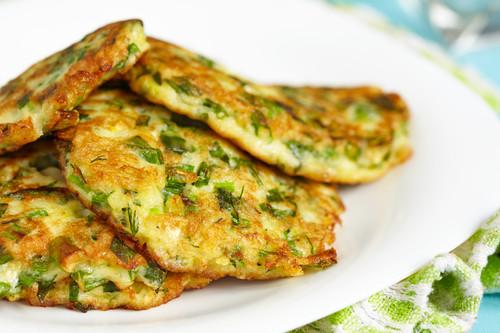 Zeleninove placicky bez mouky