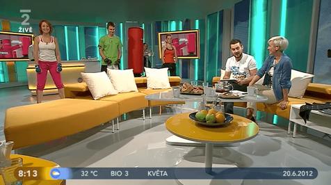 Dobré ráno s českou televizí