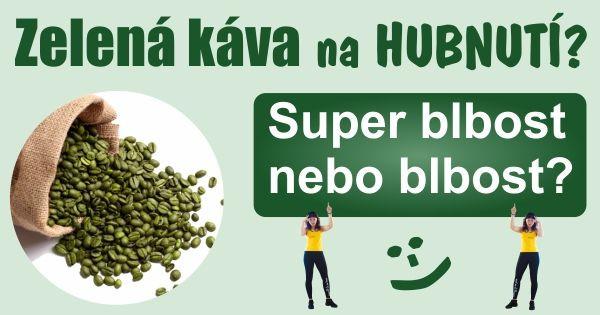 Zelena kava na hubnuti