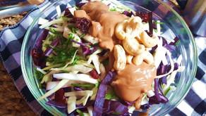 Zelný salát zčerstvého zelí