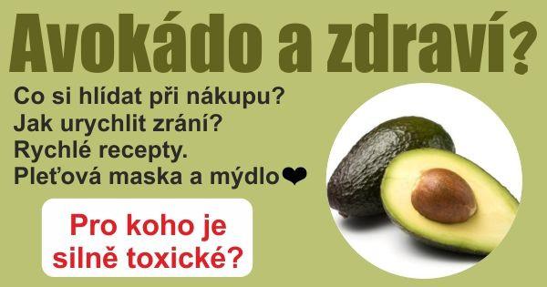 Avokado a zdraví