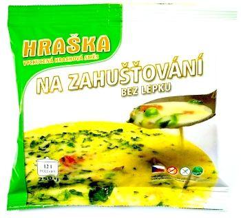 Hráška na zahuštění zdravé gulášové polévky