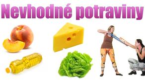 Nevhodné potraviny