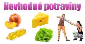 nevhodne potraviny