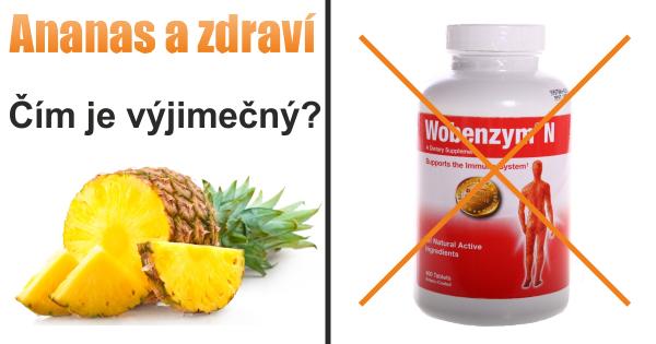 Ananas a zdravi