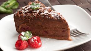 Čokoládový dezert zpohankové mouky