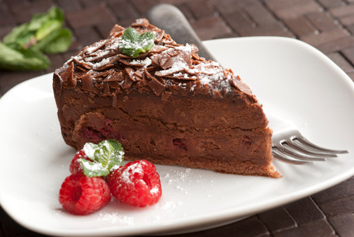 cokoladovy dezert z pohankove mouky