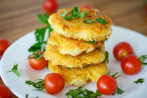 Večeře z brambor