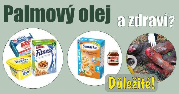 Palmovy olej a zdravi