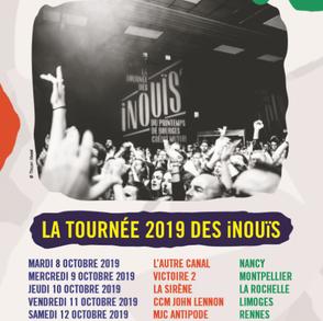 la tournée 2019 des  iNOUïS