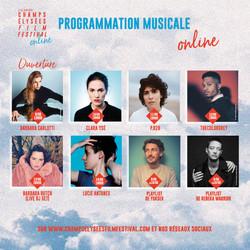programmation musicale