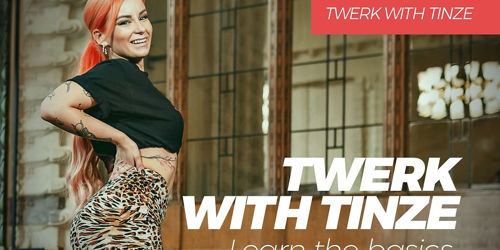 4-week Twerk Beginners Online Course by Tinze