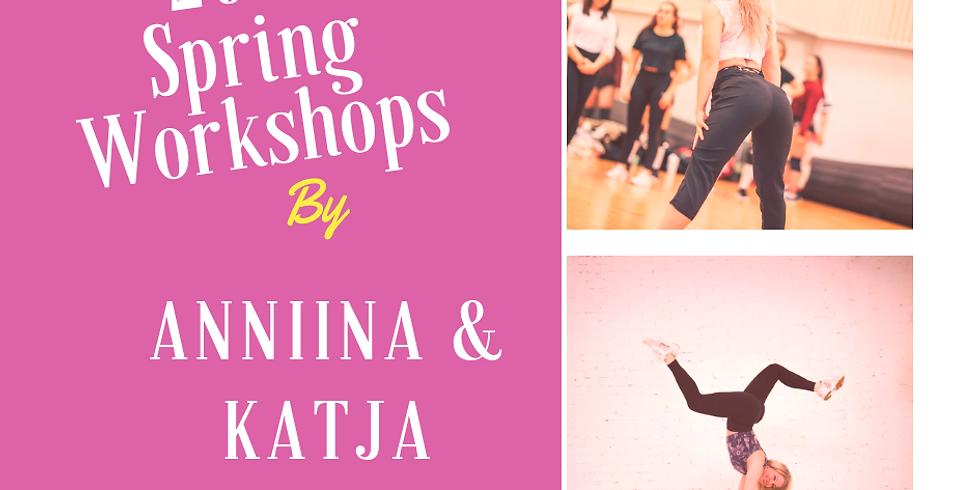Workshops by Anniina & Katja