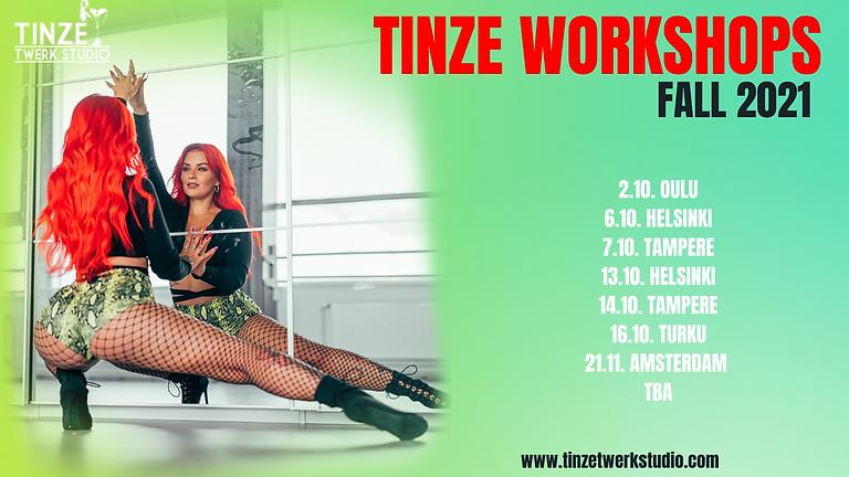 Tinze Workshops Fall 2021