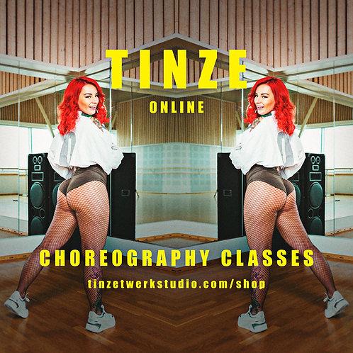 Twerk Choreos 1&2 by Tinze