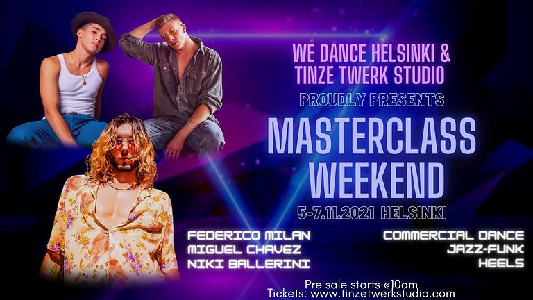 Masterclass Weekend Helsinki 5-7.11