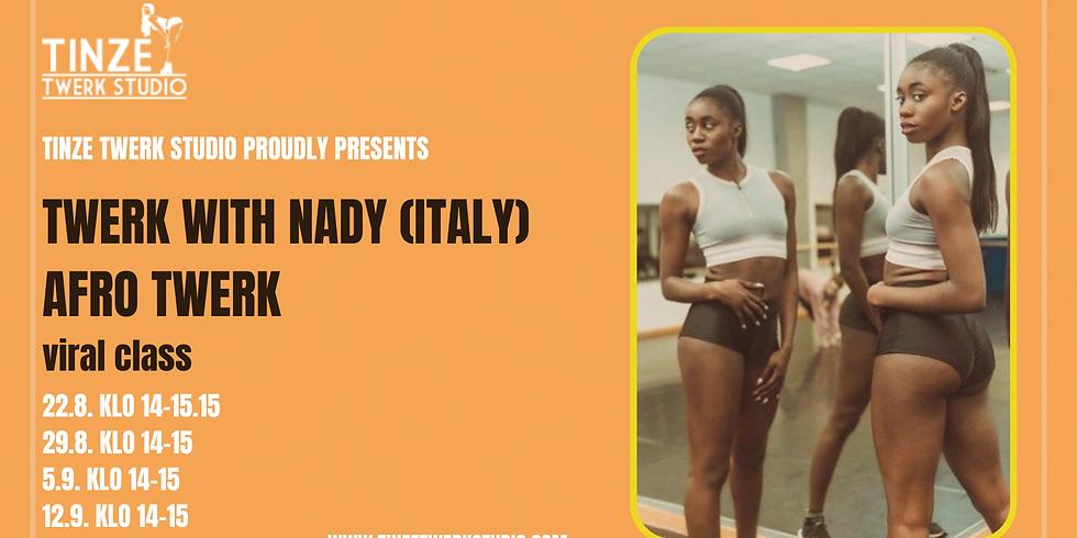 Afro Twerk by Twerk With Nady 29.8.