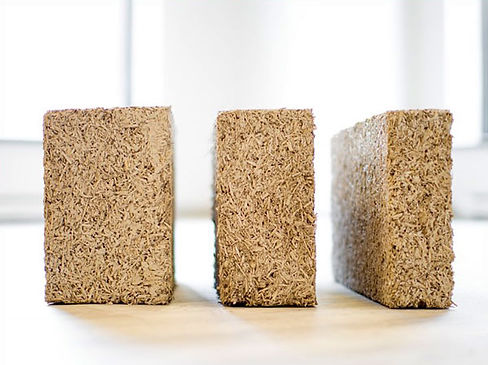 blocs de béton de chanvre