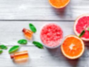 oranges et bois cristaux