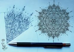 Mandala sketch - 2015 - web