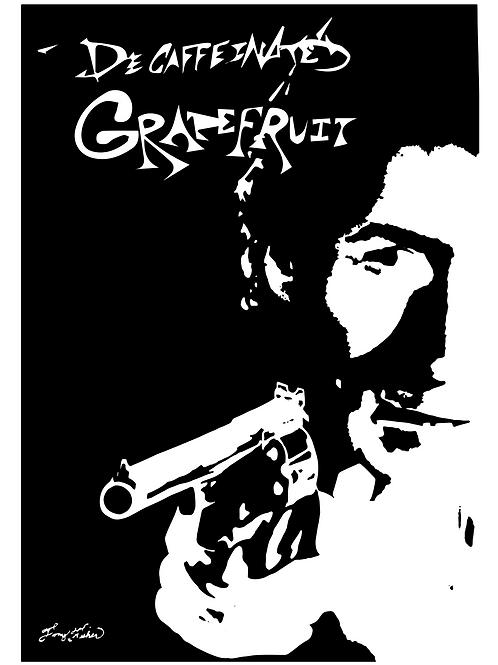Decaffeinated Grapefruit - Dirty Harry T Shirt